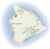 Big Island Hawaii Map